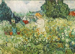 VanGogh-Marguerite in the Garden