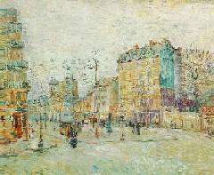 VanGogh-Boulevard de Clichy