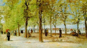 VanGogh-Lane at the Jardin du Luxembourg