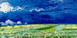 VanGogh-Wheat Field Under Clouded Sky