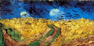 VanGogh-WheatFieldWithCrows
