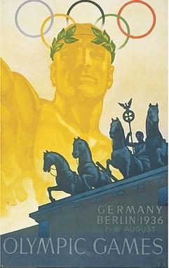 JOGOS OLÍMPICOS – 1936 – BERLIM