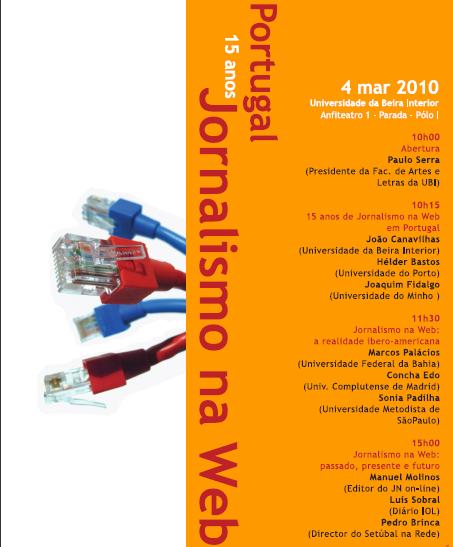 Portugal - 15 anos Jornalismo na Web