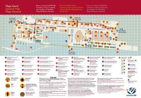 Mapa recinto Expo