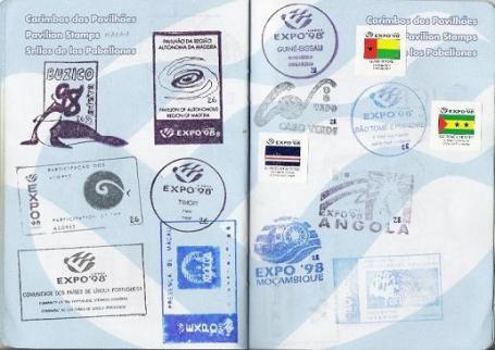 Passaporte EXPO