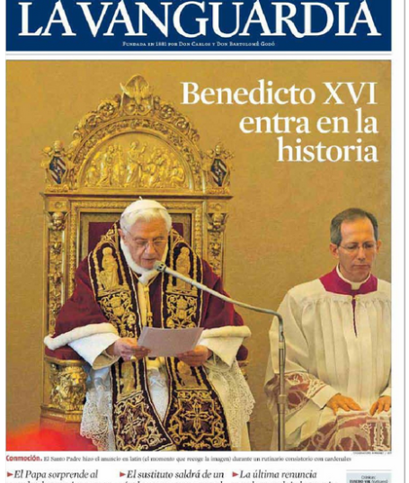 BentoXVI-jornais