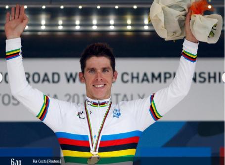 Rui Costa - Campeão do Mundo de Ciclismo - 2013