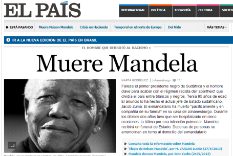 Mandela - El Pais