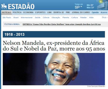 Mandela - Estadao