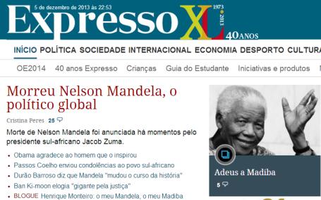 Mandela - Expresso
