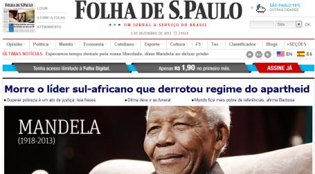 Mandela - Folha Sao Paulo