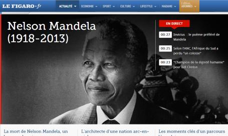Mandela - Le Figaro