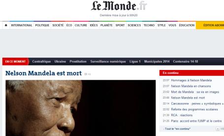 Mandela - Le Monde