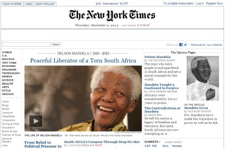 Mandela - NYT