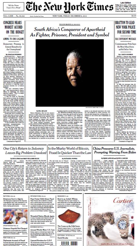 Mandela - NYT2