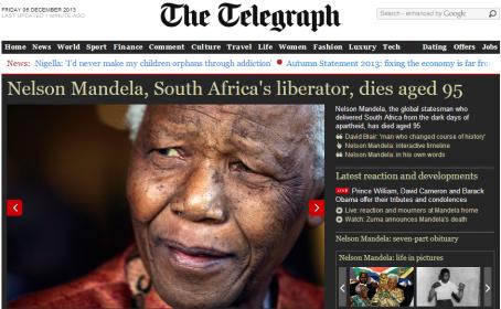 Mandela - Telegraph