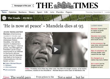 Mandela - Times