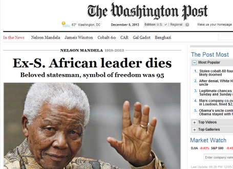 Mandela - Washington Post