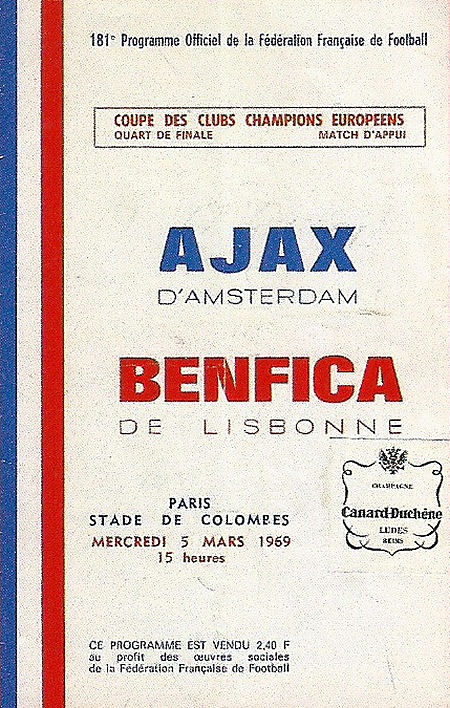 Benfica - Ajax - 1968-69