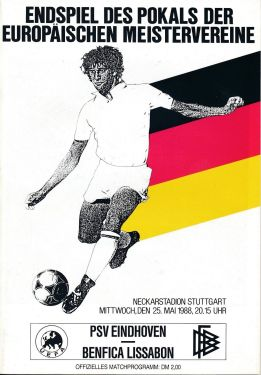 Benfica - PSV-Eindhoven - 1987-88